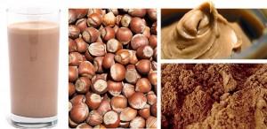hazelnut rocj chocolate protein shake